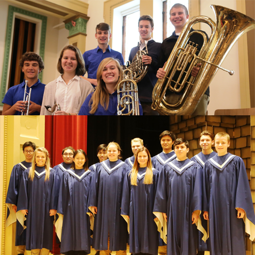 Cotter Choir & Band Students Selected for Three Rivers All-Conference Honors Music Ensembles