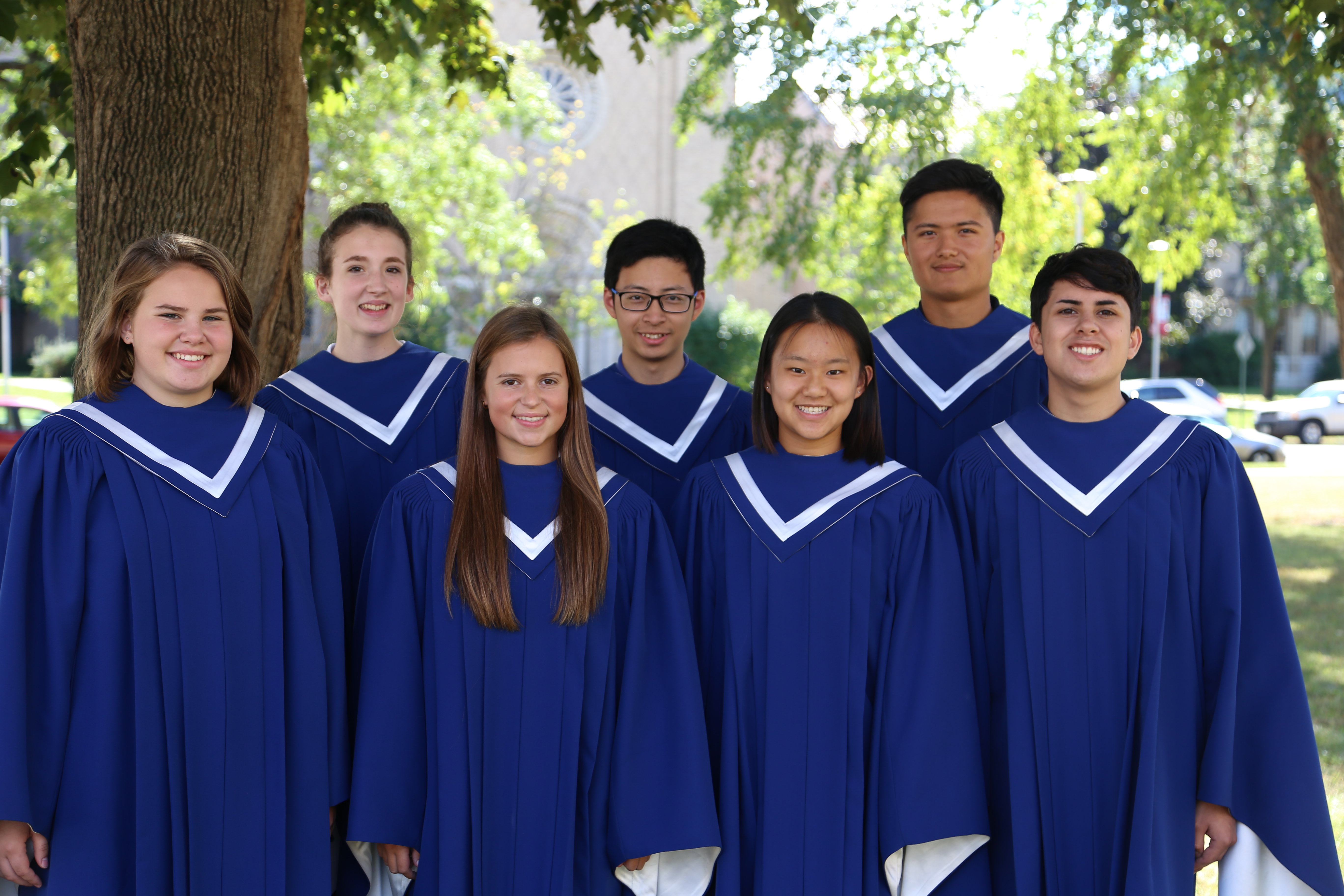 Cotter Choir Students to Participate in 2017 UW-Eau Claire Clearwater Honors Choir Festival