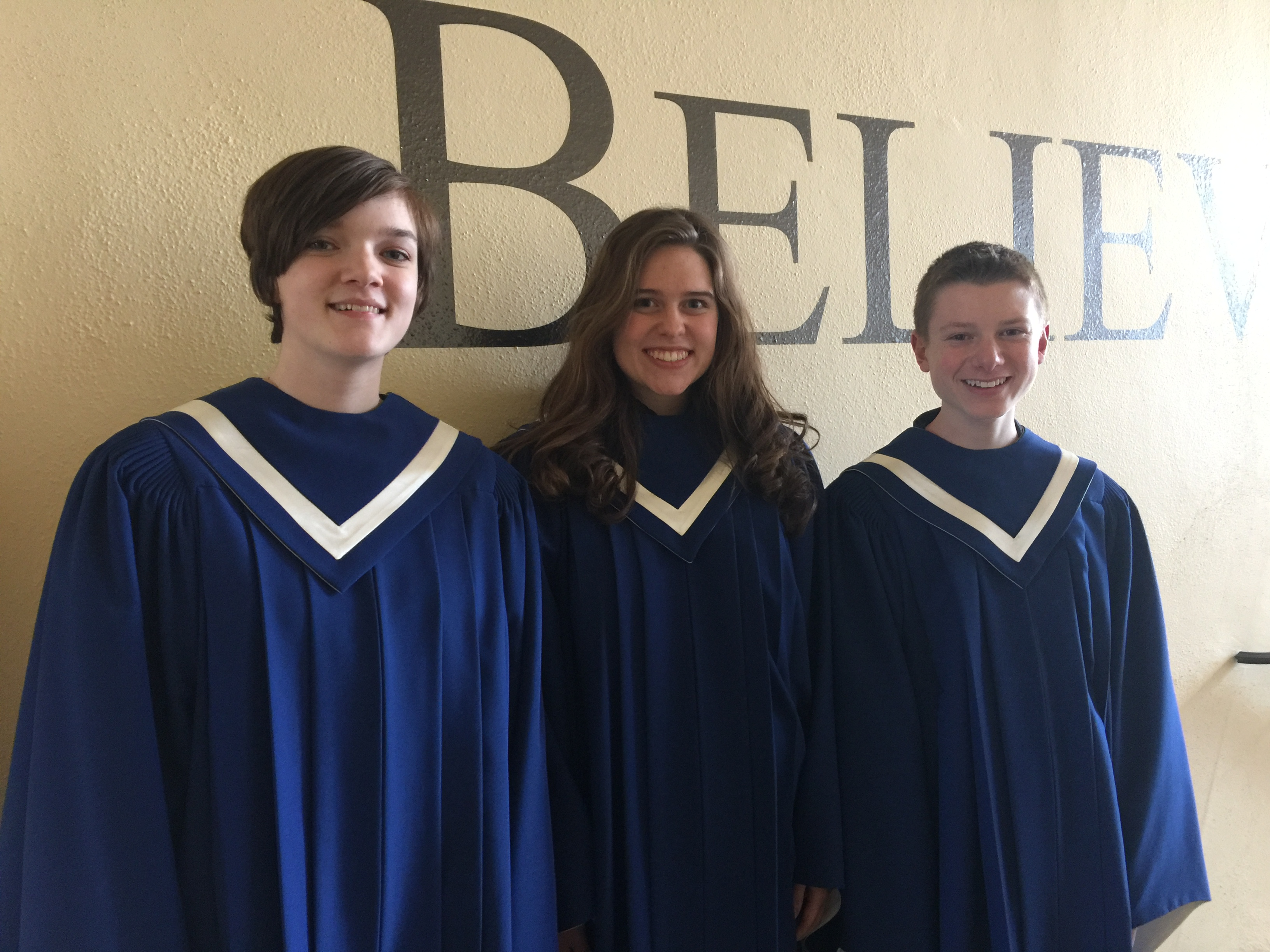 Choir Students Selected for All-State Choir