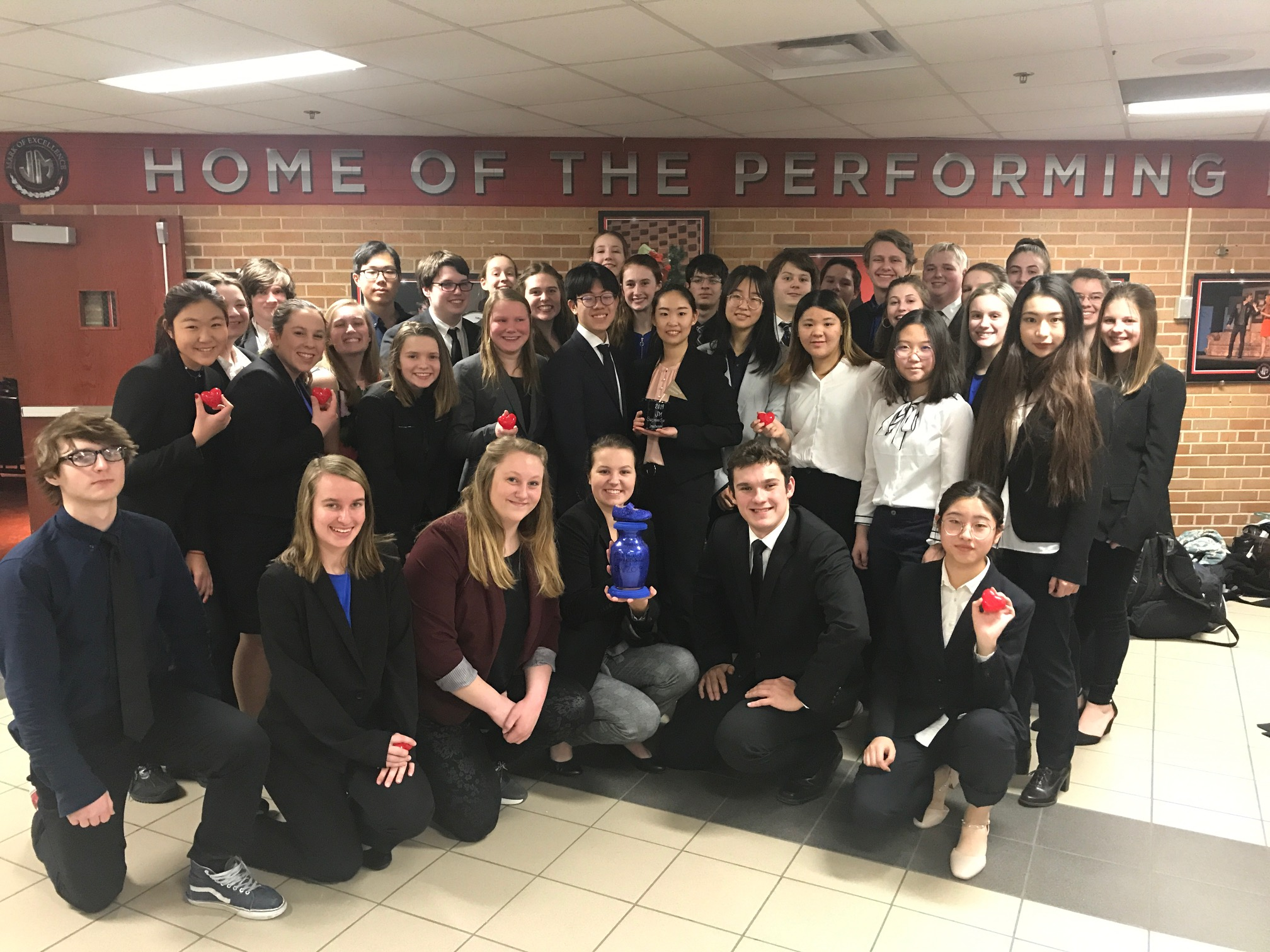 Speech Team Keeps Rolling in Red Wing!