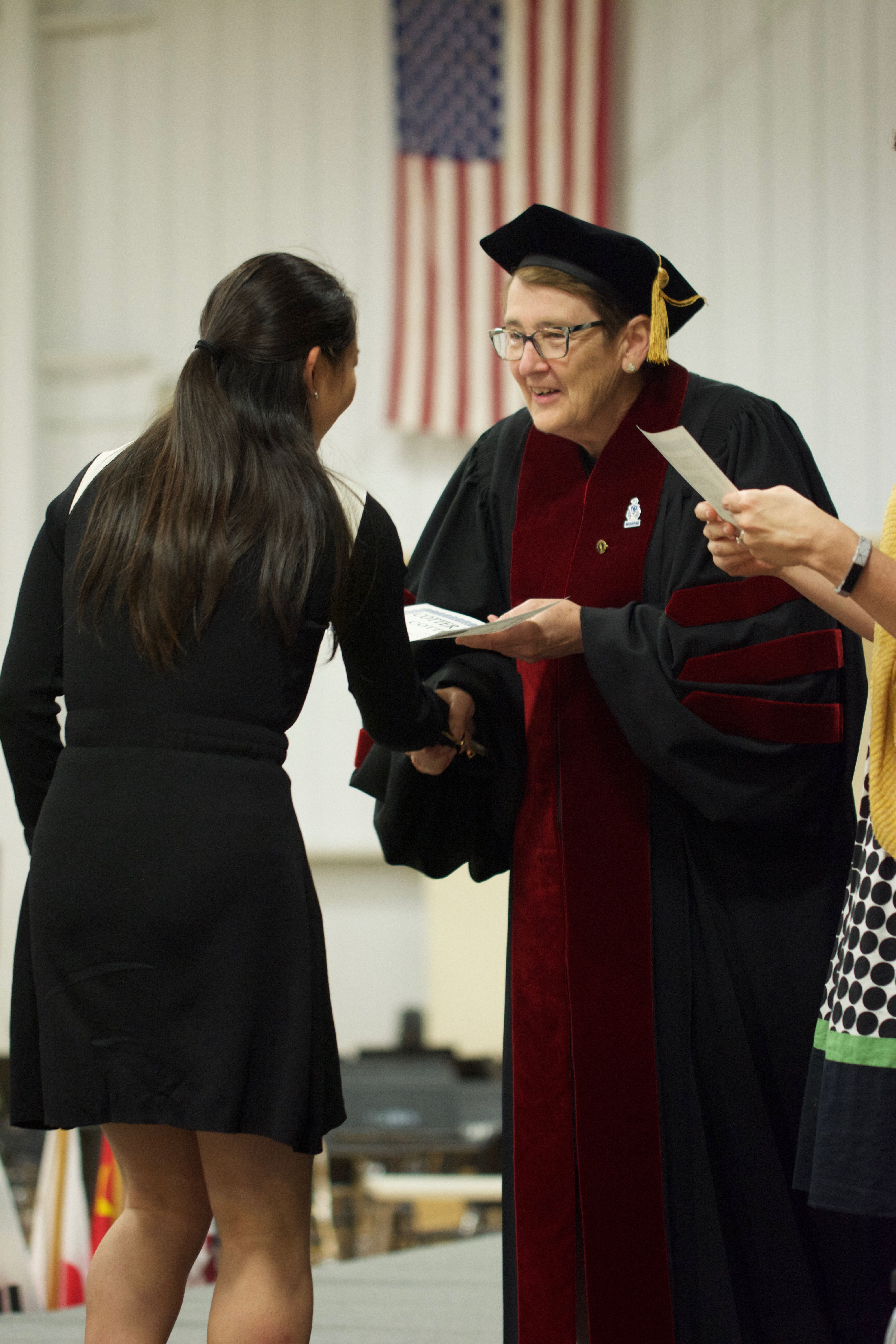 Sister Judy Honored by MISF