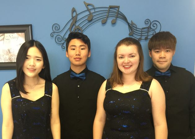 Choir Members Selected for Dorian Honor Choir