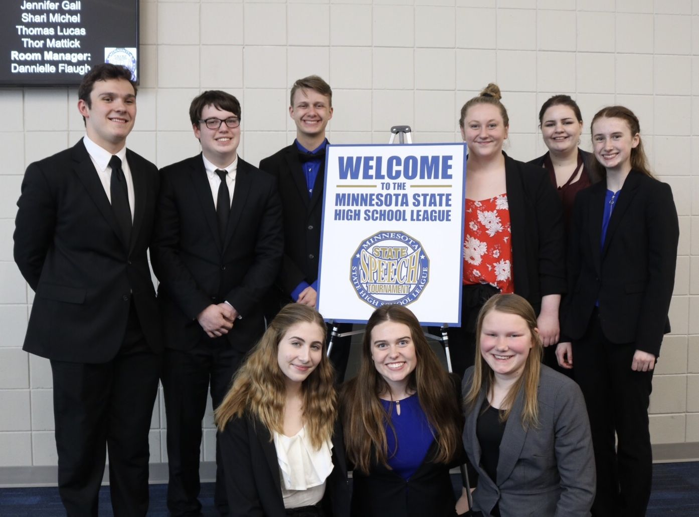 Speech Team Competes at State  - Earns More Awards