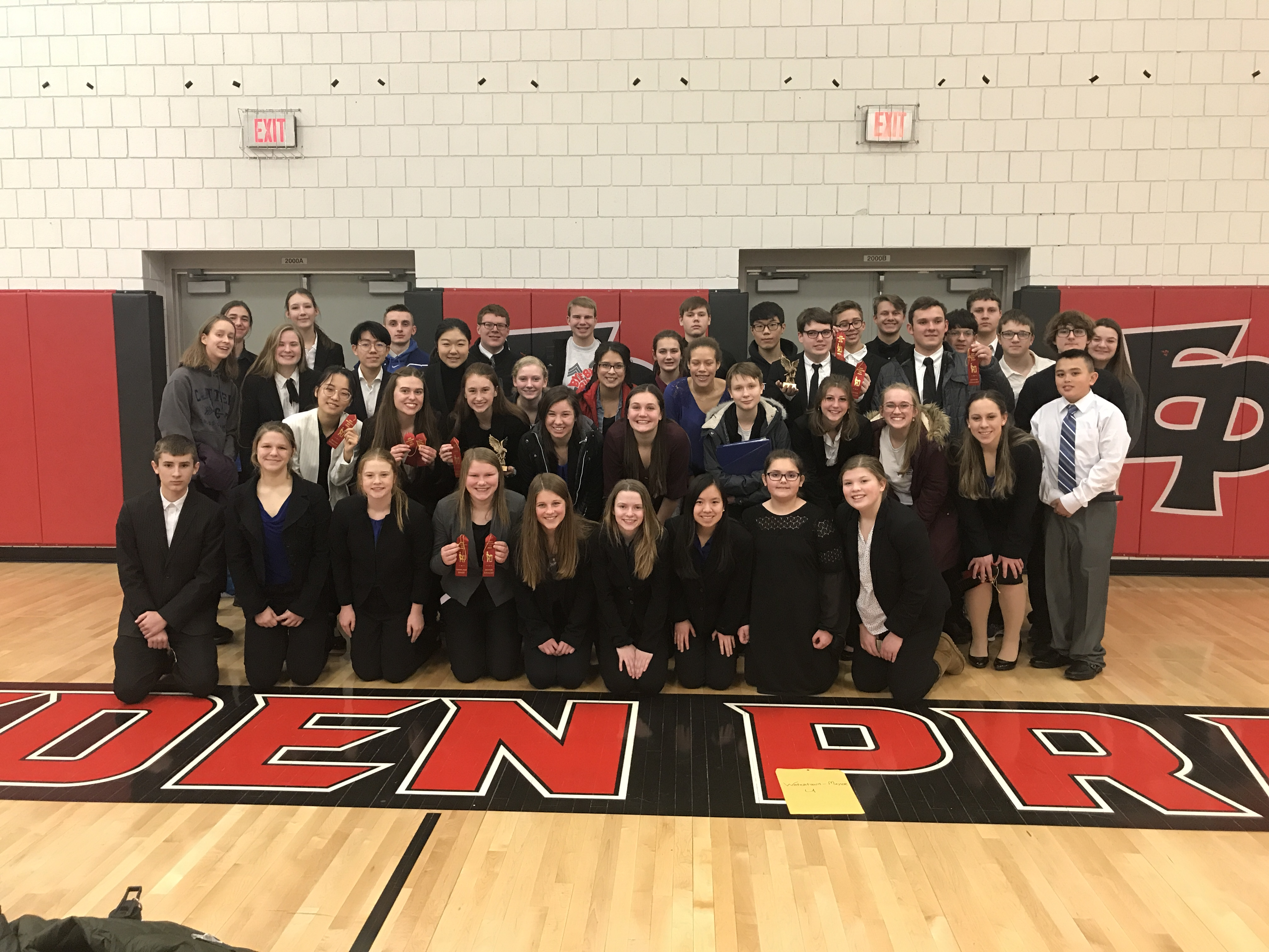 Speech Team has Record Day in Eden Prairie