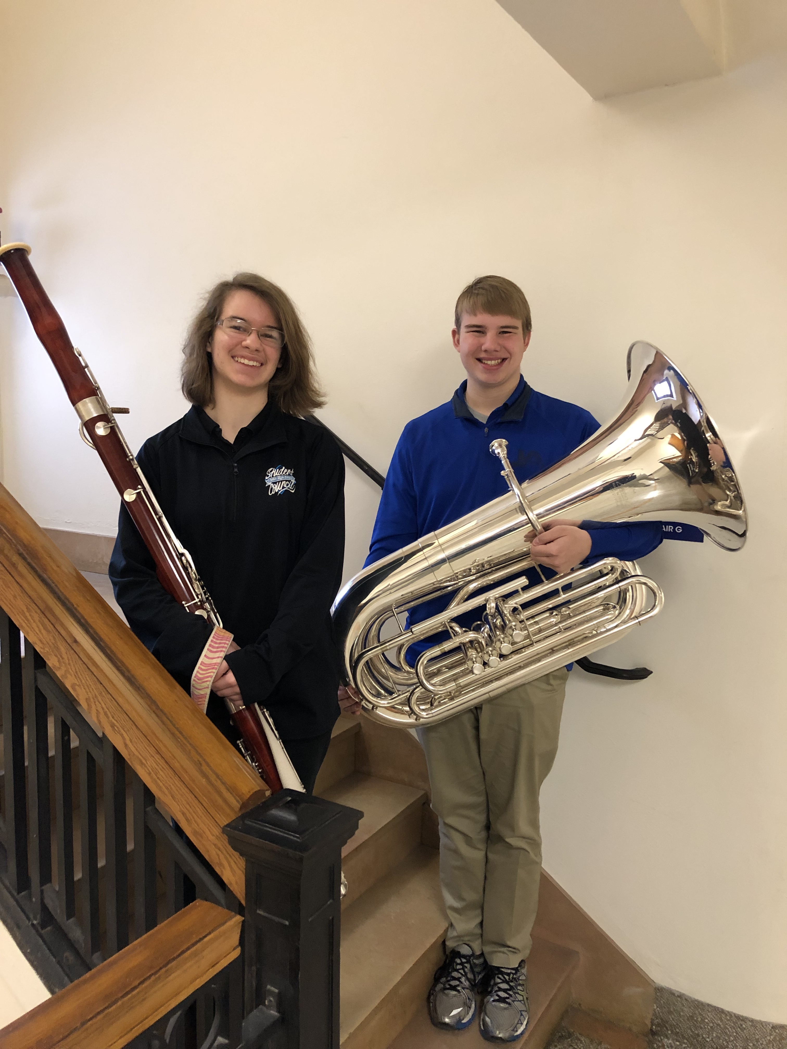 Cotter Students to Perform with All-State Ensembles
